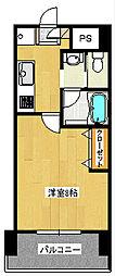 ファーストステージ湘南台[6階]の間取り
