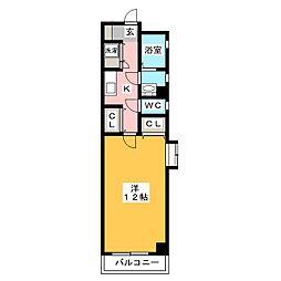 ルモンド博多[5階]の間取り