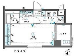 神奈川県横浜市南区高砂町2丁目の賃貸マンションの間取り