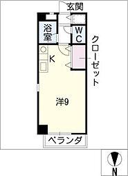 西丸ノ内トレゾア[4階]の間取り