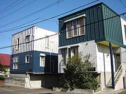 北海道札幌市東区北二十一条東18丁目の賃貸アパートの外観
