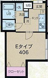 ロアール大岡山[4階]の間取り