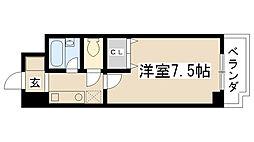 オード夙川[4-D号室]の間取り