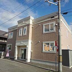 北海道江別市上江別南町の賃貸アパートの外観