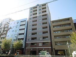 クラウンハイム西田辺[11階]の外観