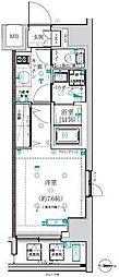 東京メトロ丸ノ内線 四谷三丁目駅 徒歩2分の賃貸マンション 2階1Kの間取り