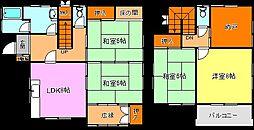 [一戸建] 兵庫県三木市自由が丘本町2丁目 の賃貸【/】の間取り