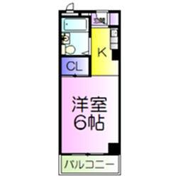 カイザ36[2階]の間取り