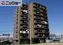 ファミーユ植田東[6階]の外観