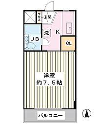 博栄ビル[3階]の間取り