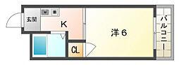 門真プラザ[7階]の間取り