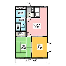 Residence Enfinity M2[2階]の間取り