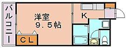 栄大ビル[3階]の間取り