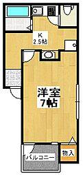 N.L コンフォールティア[1階]の間取り