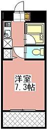 タニックス黒崎[502号室]の間取り
