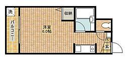 メゾン新城[304号室]の間取り