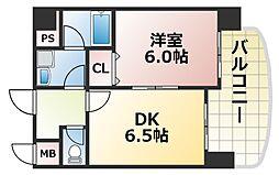 プラムヴェルデ[3階]の間取り