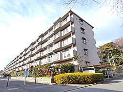 津田沼ハイツC棟[4階]の外観