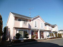 東京都立川市砂川町7丁目の賃貸アパートの外観