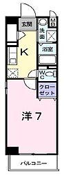 インノバーレ桜ヶ丘[4階]の間取り