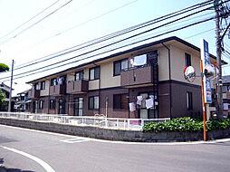 愛媛県松山市来住町の賃貸アパートの外観