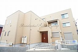 神奈川県藤沢市片瀬3丁目の賃貸アパートの外観