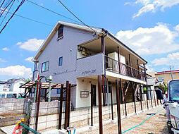 埼玉県所沢市東所沢和田3丁目の賃貸アパートの外観