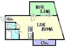 堺町Yビル[3階]の間取り