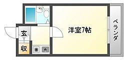 江坂NAKATAハイツ[2階]の間取り