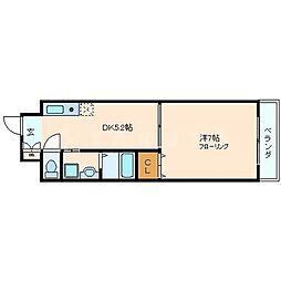 シビラ柴島[4階]の間取り