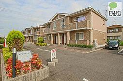 岡山県岡山市東区西大寺浜の賃貸アパートの外観