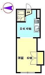 メルセ11[3階]の間取り