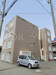 北海道札幌市北区北三十八条西7丁目の賃貸マンションの外観