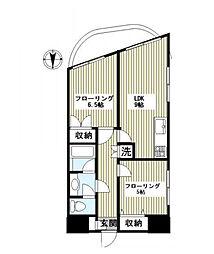 ラ・エスぺランサ・レイ[2階]の間取り