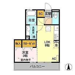 (仮)D-room元総社町 A