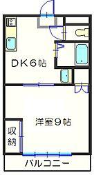 メゾン東和[302号室]の間取り