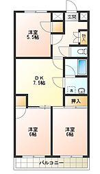第5三宅ビル[1階]の間取り