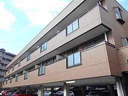 神奈川県川崎市中原区上平間の賃貸マンションの外観