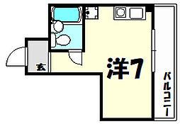 ラ・レジダンス・ド・エリール[9階]の間取り
