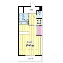 モアメゾンIII[6階]の間取り