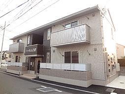 愛媛県松山市立花6丁目の賃貸アパートの外観