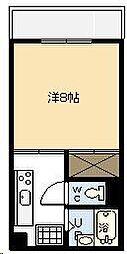 サンシャインハイツB[202号室]の間取り
