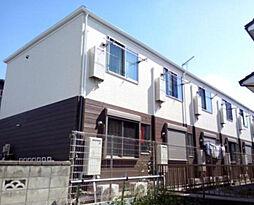 千葉県船橋市薬円台4丁目の賃貸アパートの外観