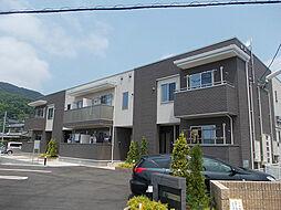 山口県下関市前田1丁目の賃貸アパートの外観