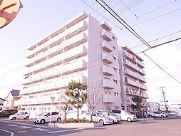 岡山県岡山市南区福富西1丁目の賃貸マンションの外観