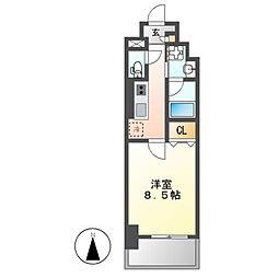 エスカルコート[5階]の間取り