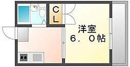 香川県高松市藤塚町1丁目の賃貸マンションの間取り