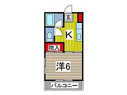 メゾン吉川[2階]の間取り