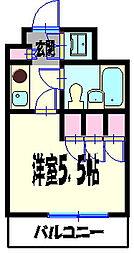 NICアーバンスピリッツ横浜反町[5階]の間取り