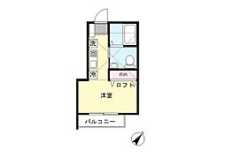 登戸ハウス[2階]の間取り